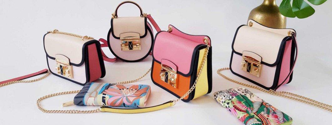 Эйфория естественной женственности в коллекции сумок CROMIA весна-лето 2021