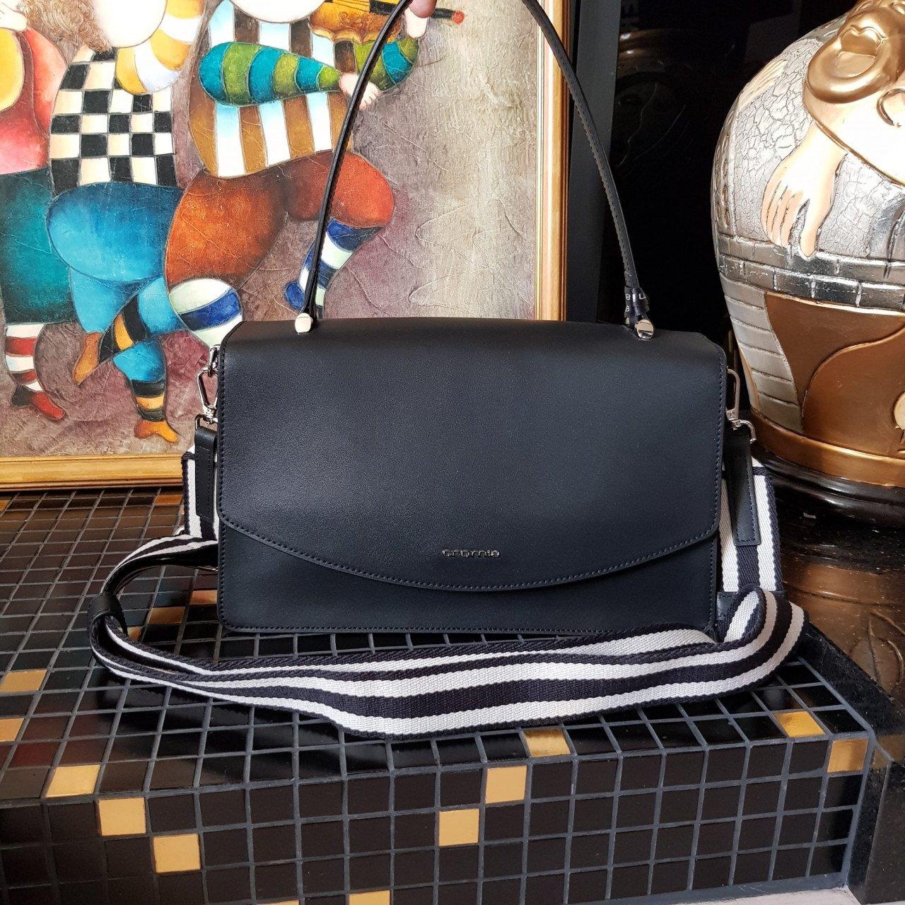 Женская кожаная сумка Cromia 1404667 NERO из натуральной кожи