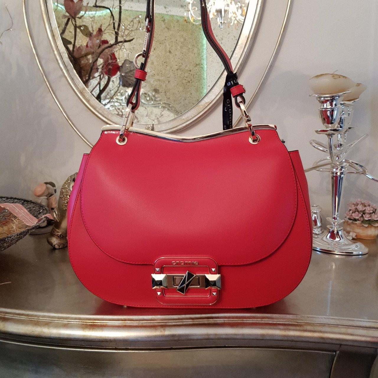 Женская кожаная сумка Cromia 1404719 ROSSO из натуральной кожи