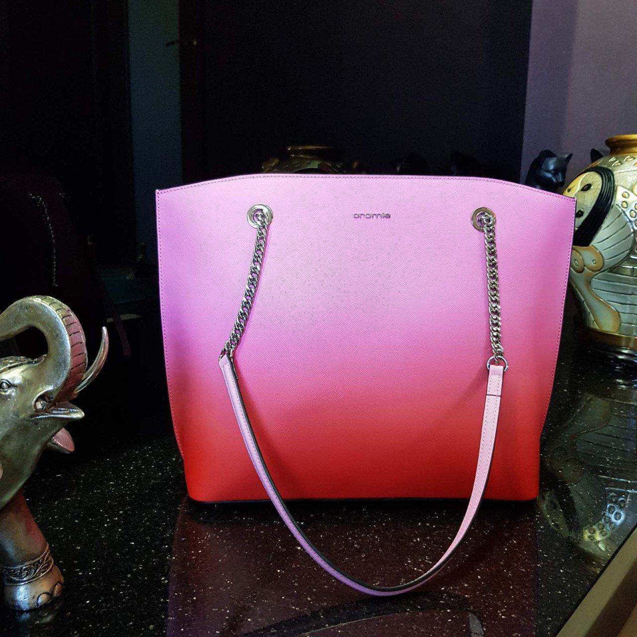 Женская кожаная сумка Cromia 1404471 FUXIA