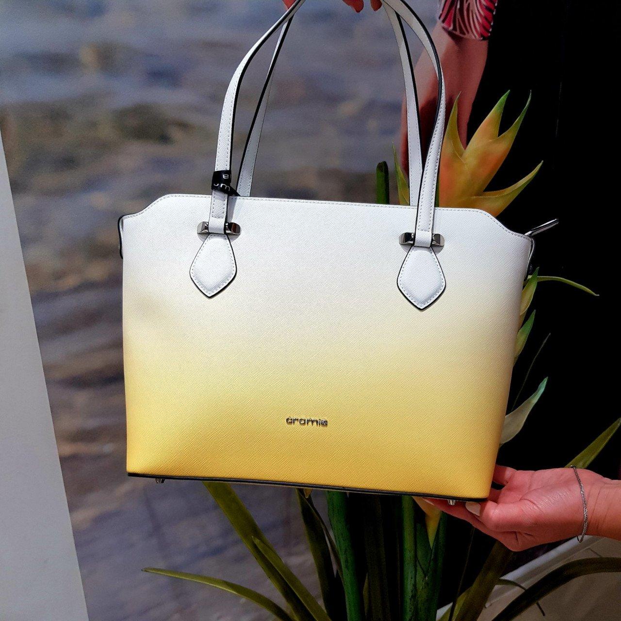 Женская кожаная сумка Cromia 1404473 BIANCO