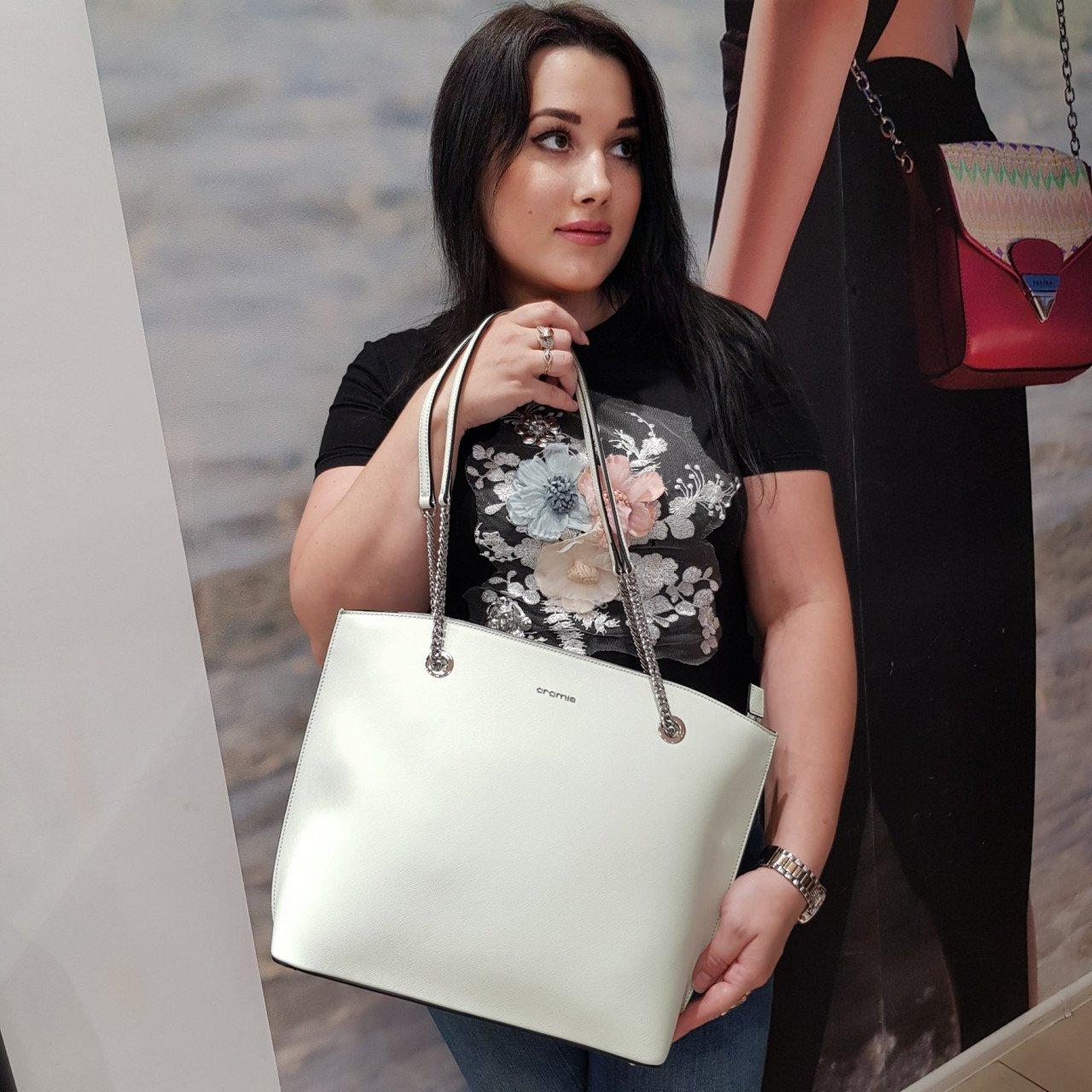 Женская кожаная сумка Cromia 1404478 PISTACCHIO