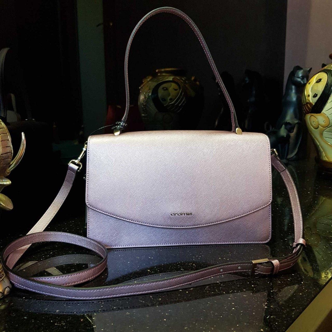 Женская кожаная сумка Cromia 1404483 GLICINE