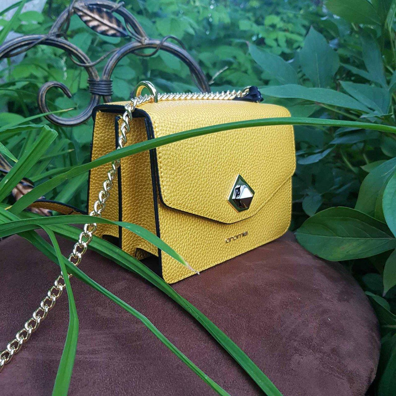 Женская кожаная сумка Cromia 1404504 AMBRA