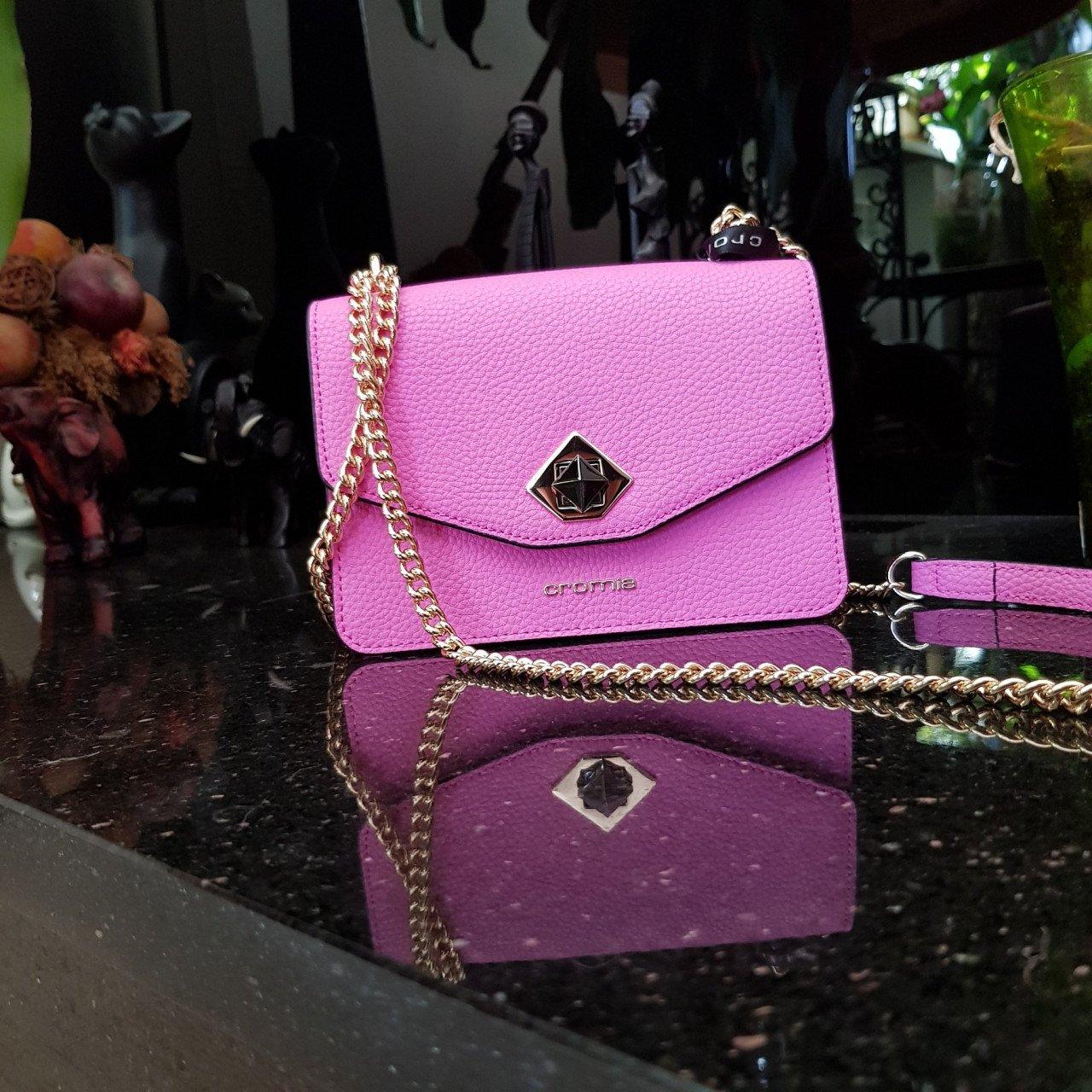 Женская кожаная сумка Cromia 1404504 LAMPONE