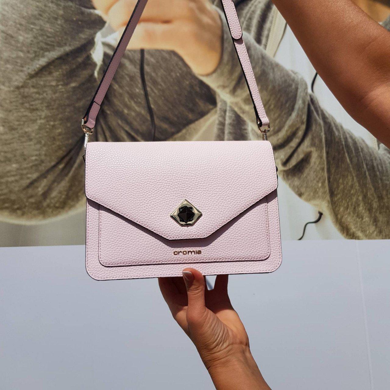 Женская кожаная сумка Cromia 1404505 ROSA
