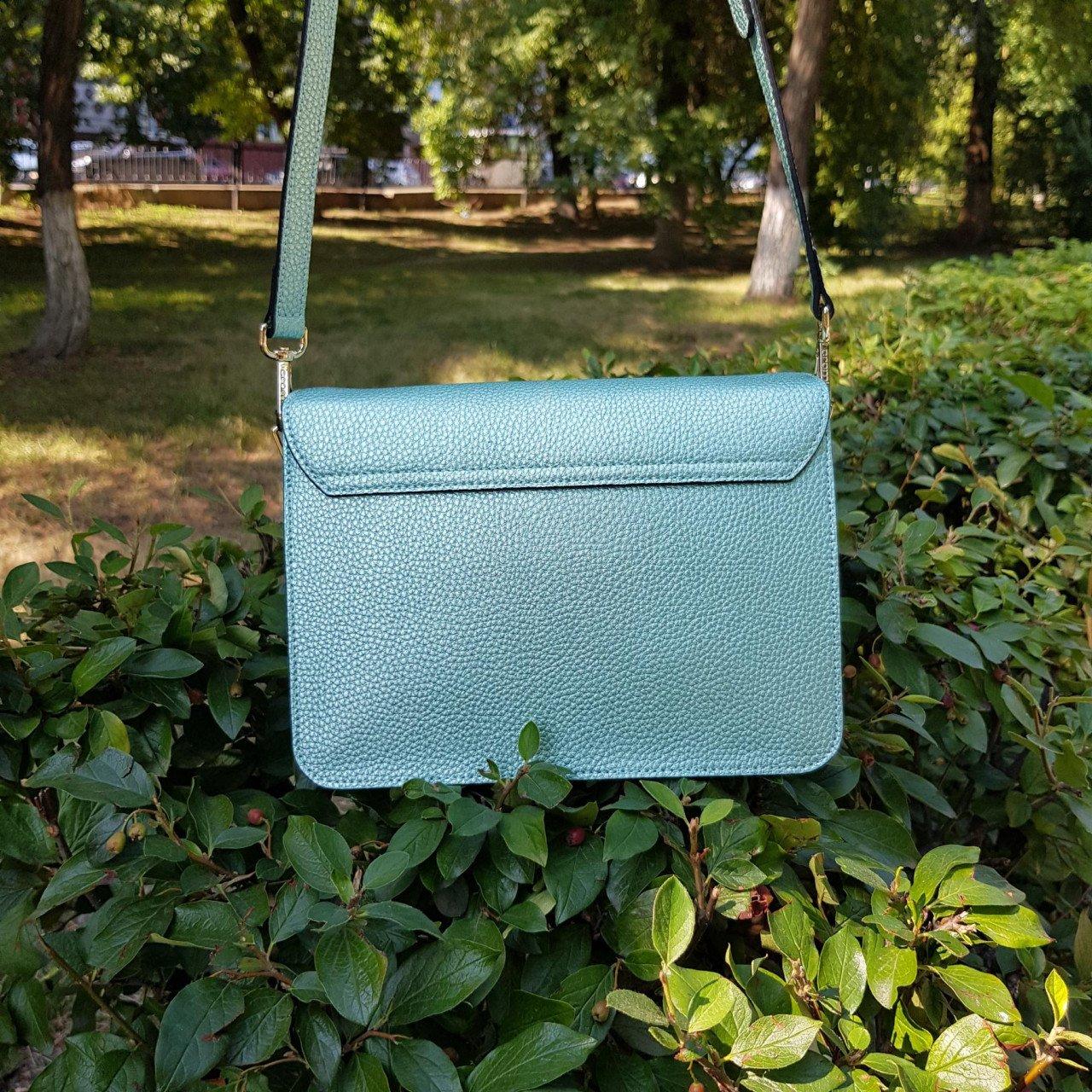 Женская кожаная сумка Cromia 1404505 SMERALDO