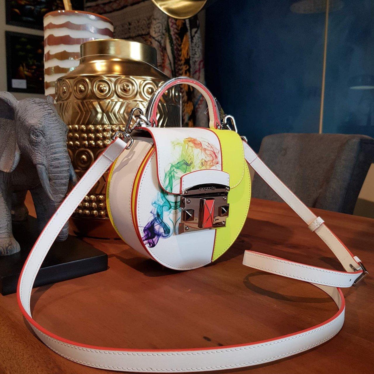 Женская кожаная сумка Cromia 1404523 GIALLO