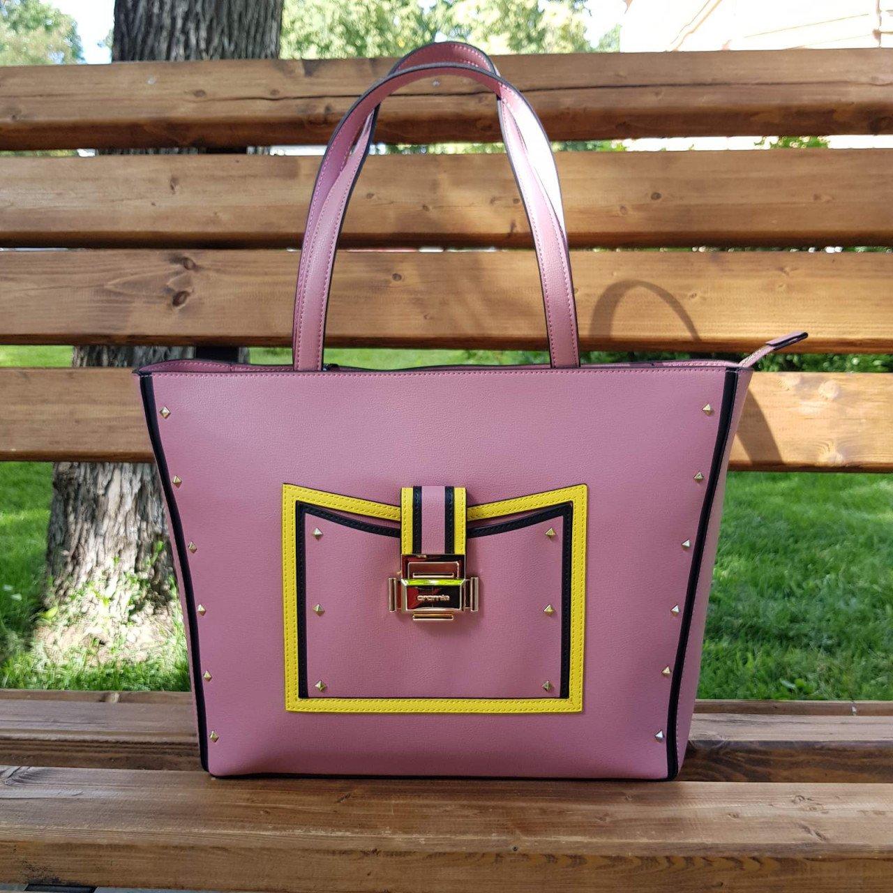 Женская кожаная сумка Cromia 1404540 ORCHIDEA