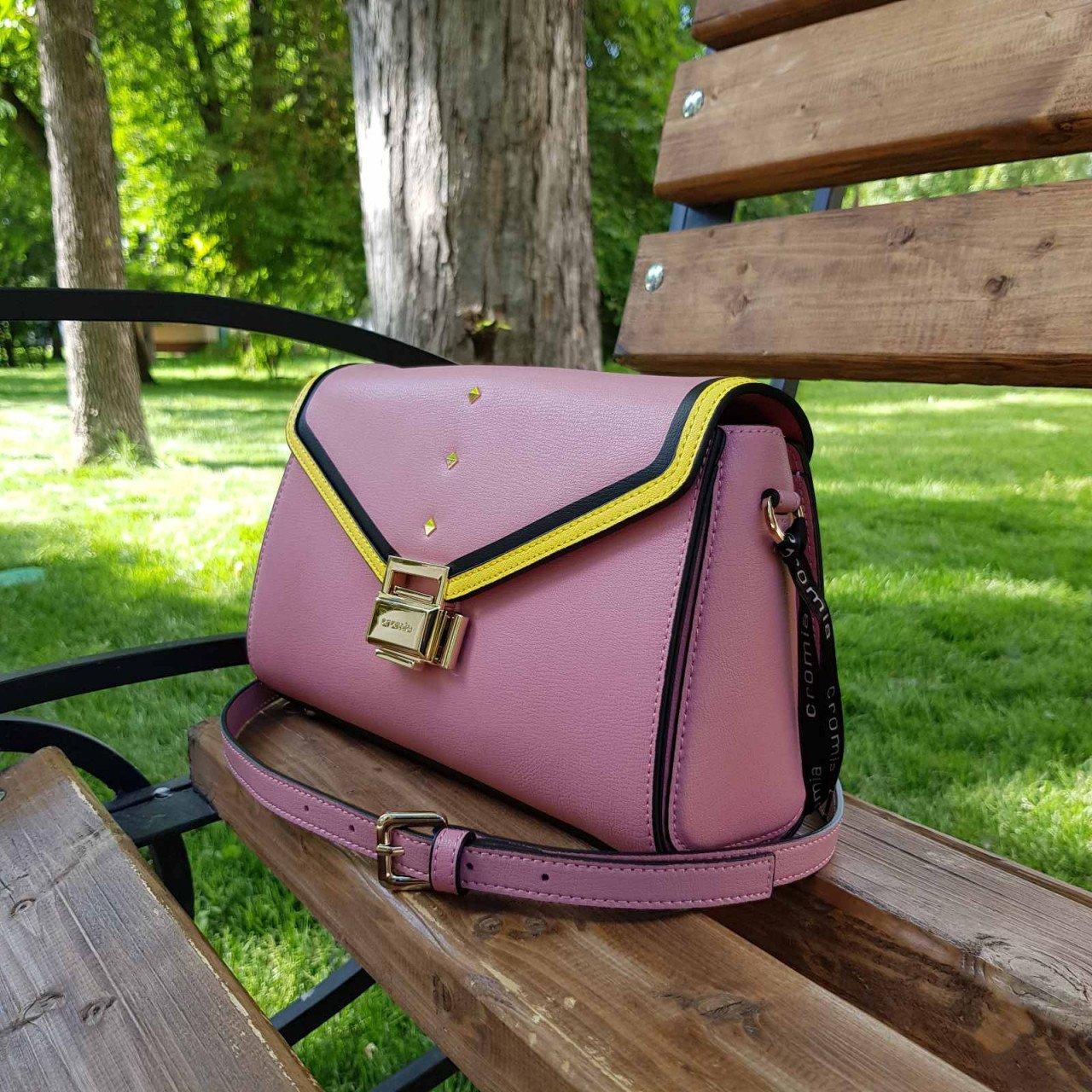 Женская кожаная сумка Cromia 1404544 ORCHIDEA