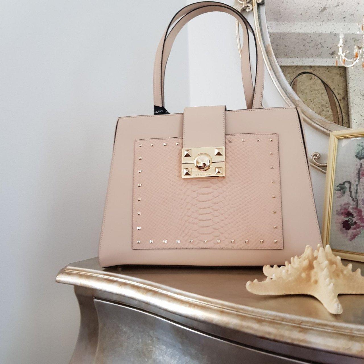Женская кожаная сумка Cromia 1404560 NUDE