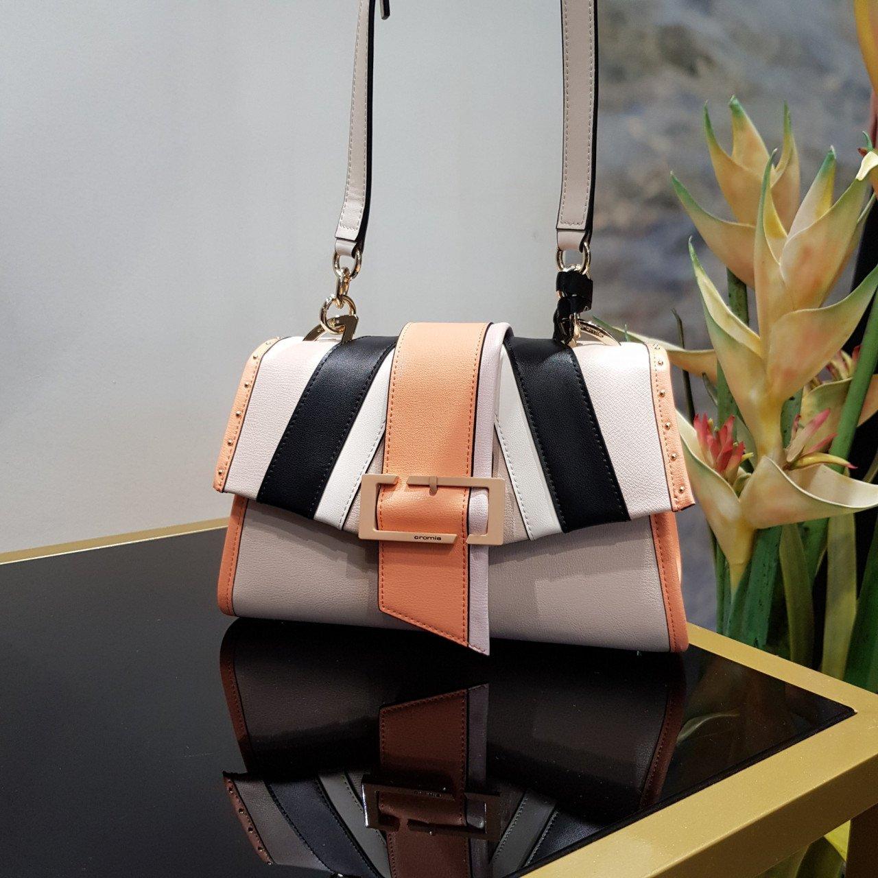 Женская кожаная сумка Cromia 1404573 BEIGE