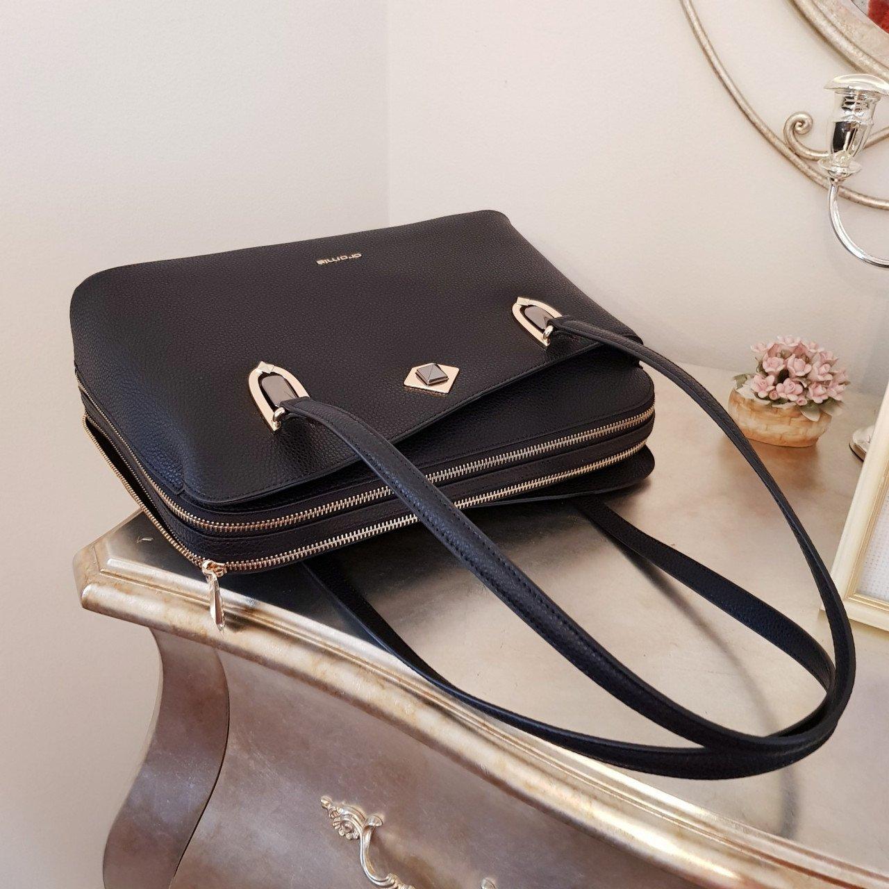 Женская кожаная сумка Cromia 1404830 NERO из натуральной кожи