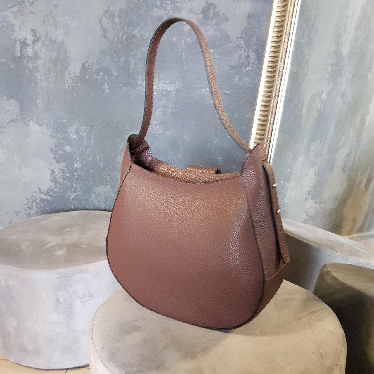 Женская кожаная сумка Cromia 1404837 CIOCCOLATO из натуральной кожи
