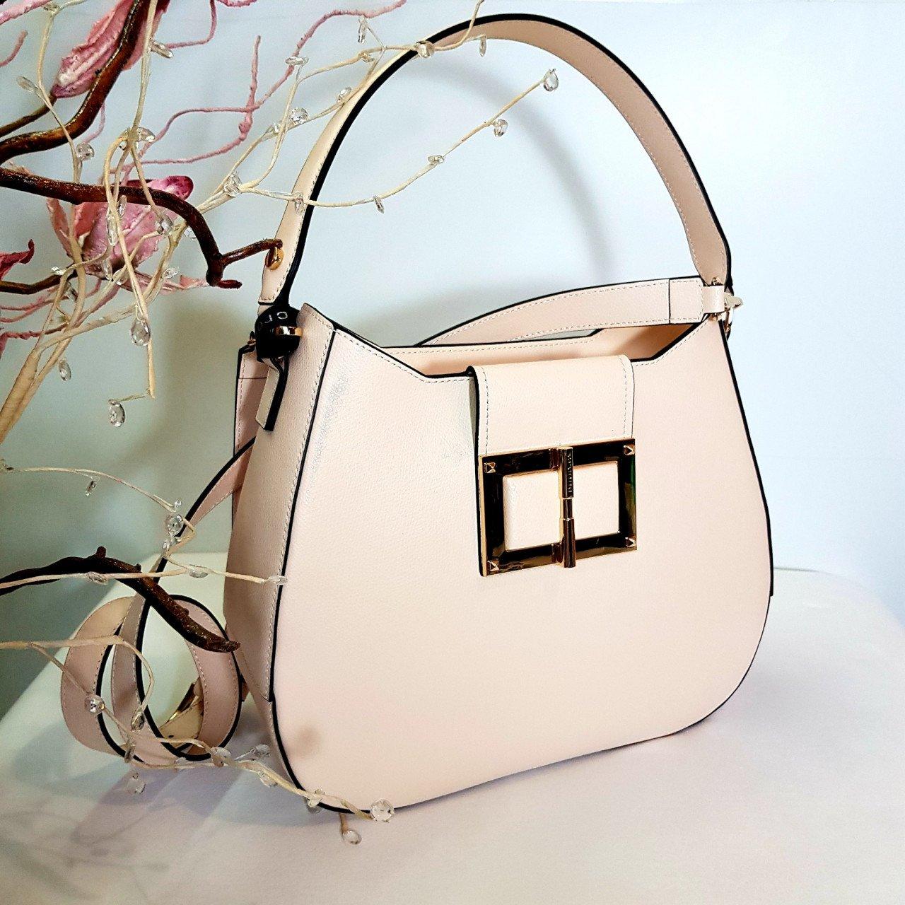 Женская кожаная сумка Cromia 1404860 CREMA из натуральной кожи
