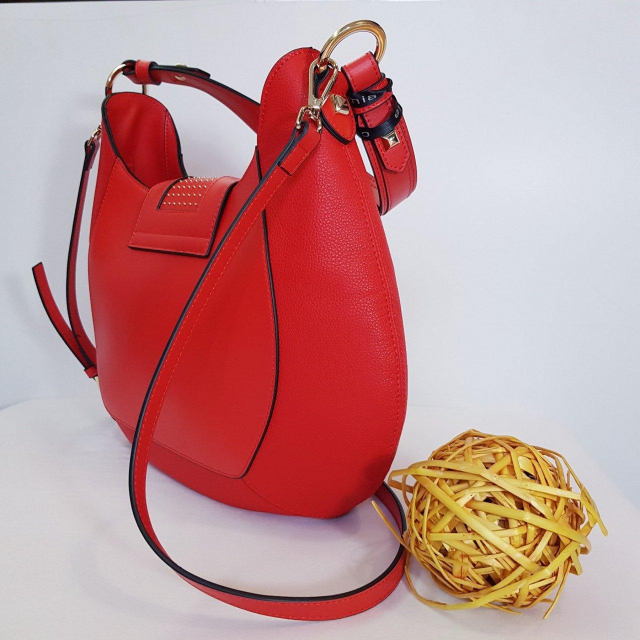 Женская кожаная сумка Cromia 1404875 ROSSO из натуральной кожи