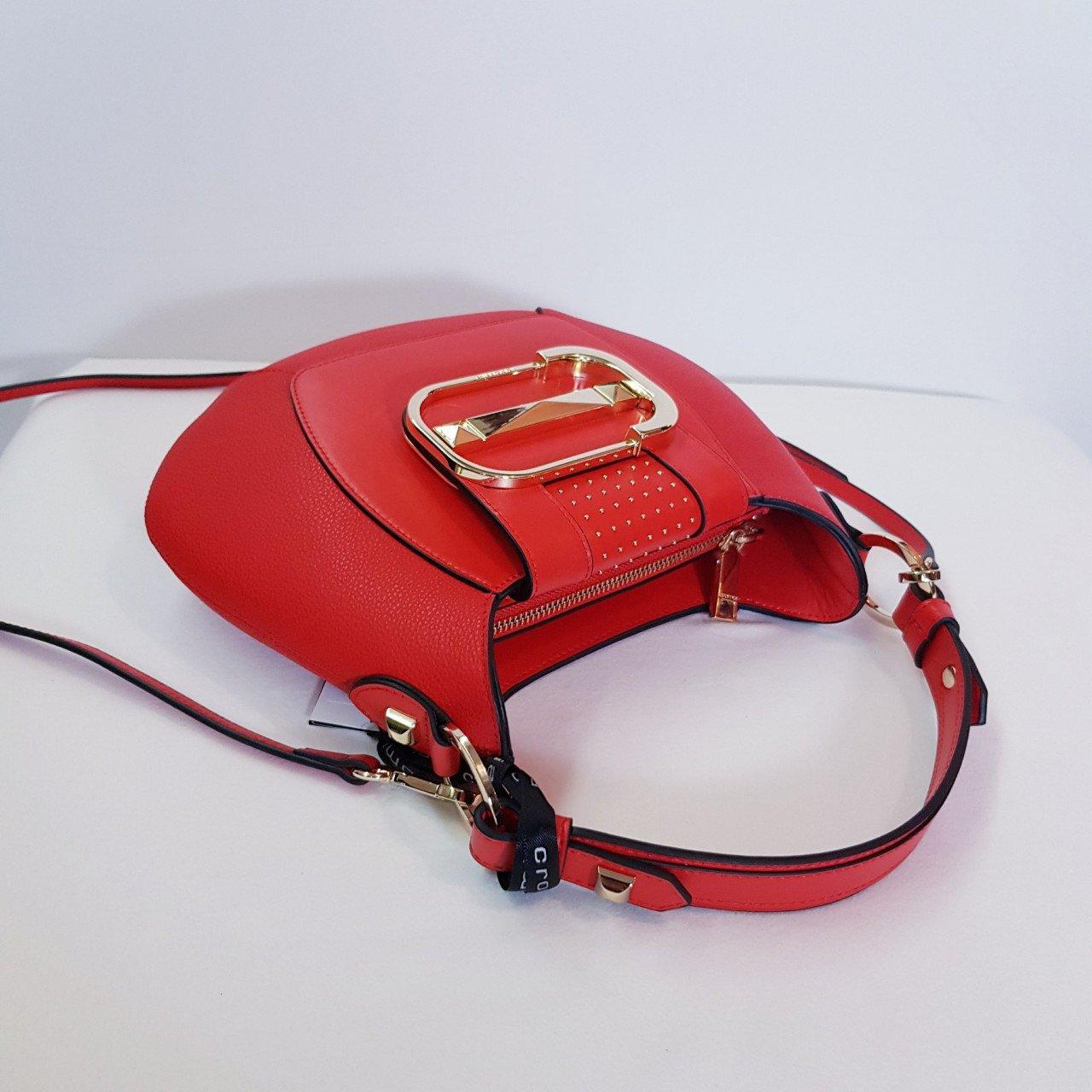 Женская кожаная сумка Cromia 1404876 ROSSO из натуральной кожи