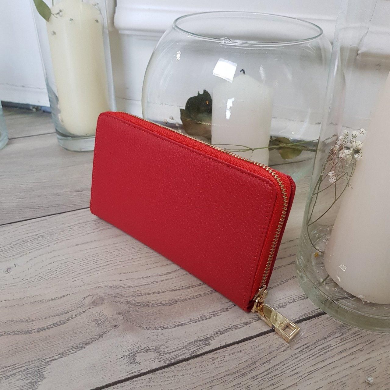 Женский кожаный кошелек Cromia 2631069 ROSSO из натуральной кожи