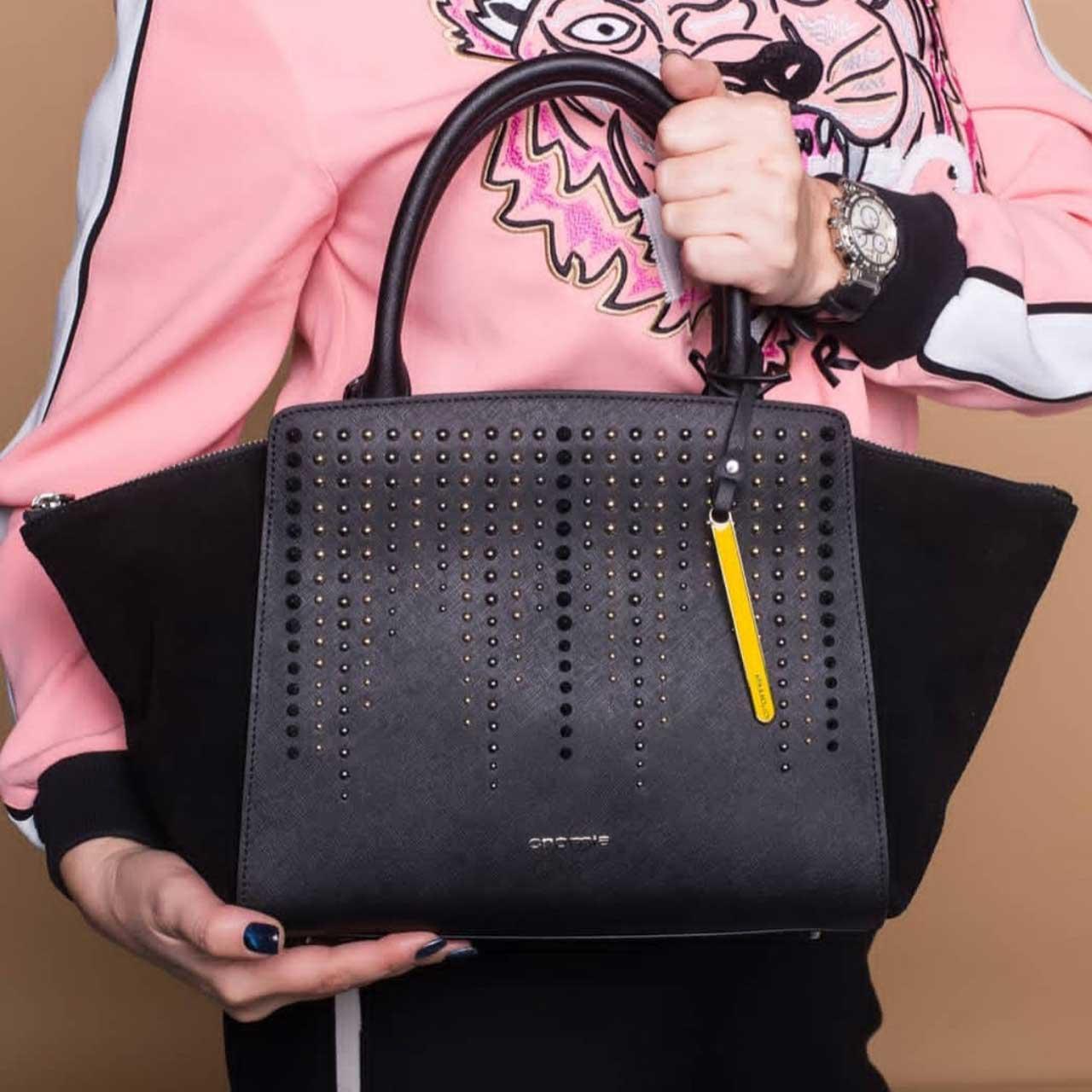 Женская сумка 1403852 blu из натуральной кожи